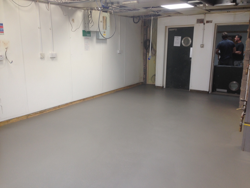 Seamless resin kitchen flooring - ACL Industrial Flooring